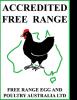 FREPA Australian free range chicken accreditation logo