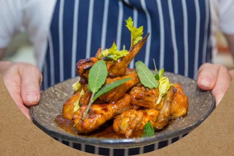 The Bare Bird - Firecracker Chicken Drumsticks Recipe