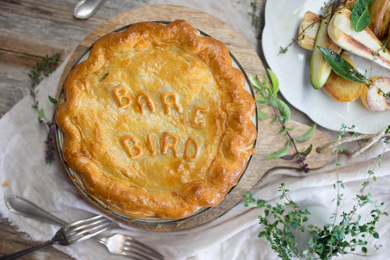 Free Range Chicken Pie Recipe
