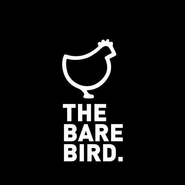 The Bare Bird Logo - Antibiotic free chicken