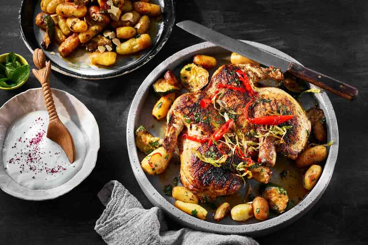 Chermoula Marinated Chicken Recipe