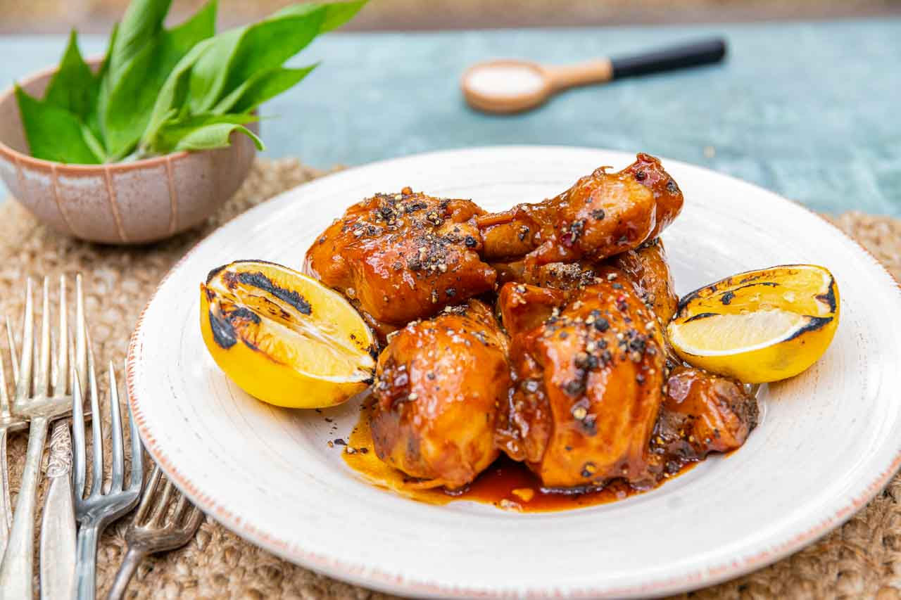 Honey & Pepper Drumsticks